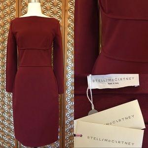 Stella McCartney Maroon Dress Size 44